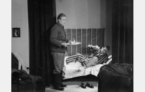 Sven Relander ja Eino Haavisto.