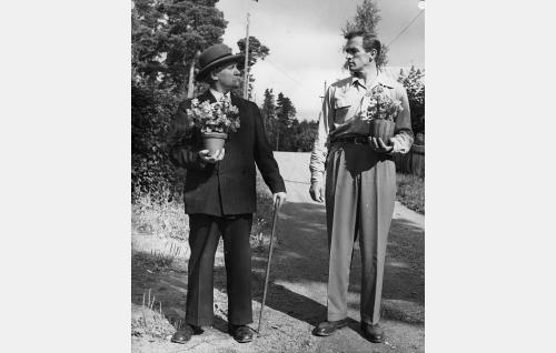 Vilho Siivola ja Tapio Rautavaara.