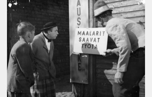Risto Jussila, Masa Niemi ja Esa Pakarinen.