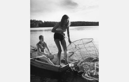 Maija Karhi ja Heidi Krohn.