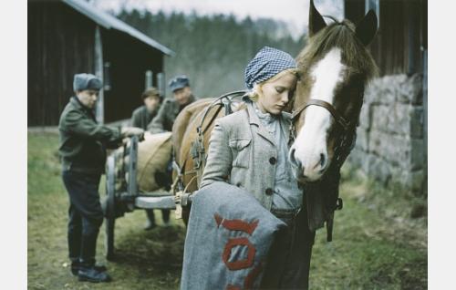 Monan (Laura Birn) rakas Roi (Sisu-Jussi) luovutetaan hevoslautakunnalle.