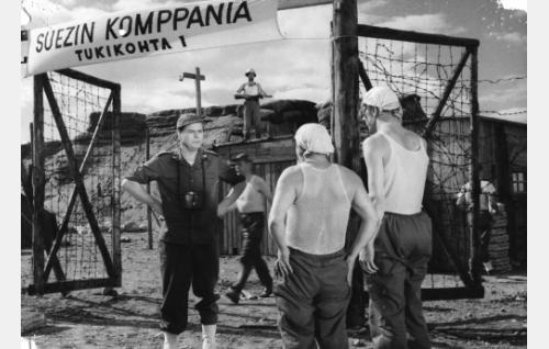 Kauko Kokkonen, Masa Niemi ja Esa Pakarinen.