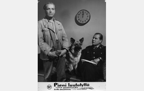 Leo Lähteenmäki, Lida ja Kauko Kokkonen.