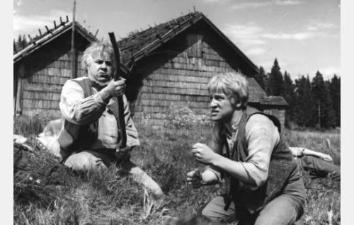 Edvin Laine ja Veikko Sinisalo.