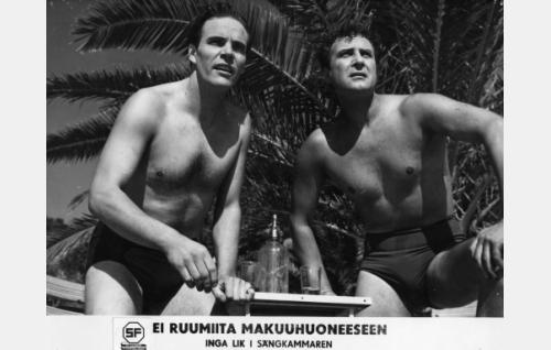 Tommi Rinne ja Helge Herala.