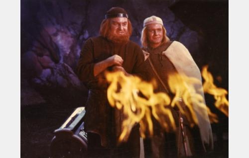 Ilmarinen (Ivan Voronov ja Lemminkäinen (Andrins Oshin).