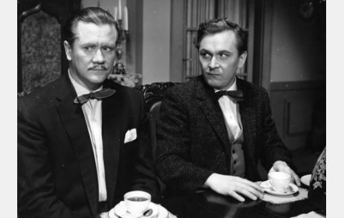 Hannes Häyrinen ja Leo Jokela.