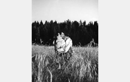 Tauno Palo ja Kirsti Hurme.