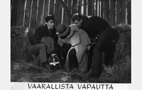 Ville-Veikko Salminen, Toivo Lehkonen ja Risto Aaltonen.