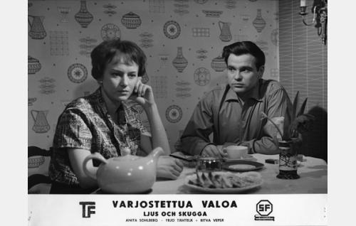 Pirkko Peltomäki ja Rauno Ketonen.