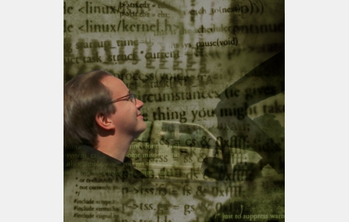 Linus Torvalds. Kuva: Making Movies Oy.