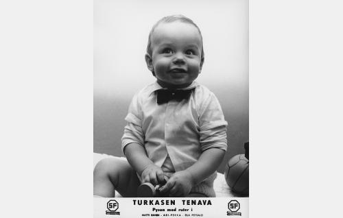 Matti Mäkinen, turkasen tenava (Ari-Pekka).