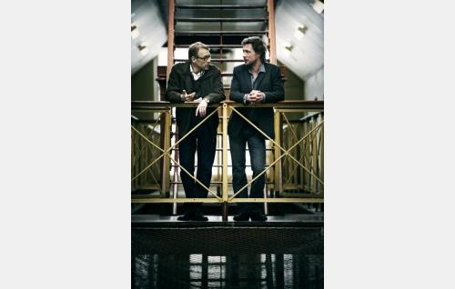 Hautavainio (Ilkka Heiskanen) ja Vares (Antti Reini). Kuva: Solar Films Inc. Oy / Jan Granström.