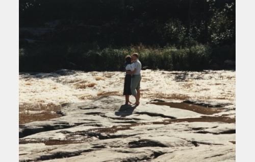 Jari Pehkonen ja Tuija Töyräs