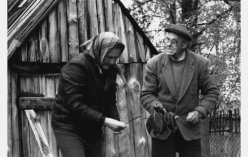 Marta Berthold ja Viktor Berthold.