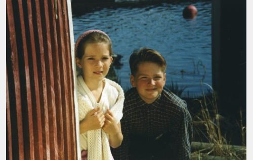 Katariina (Tiina Mylläri) ja Kalle (Kalle Wallin).
