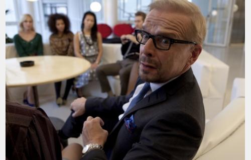 Levymoguli Martin Bakka (Jukka Puotila). Kuva: Anton Sucksdorff / Juonifilmi Oy.
