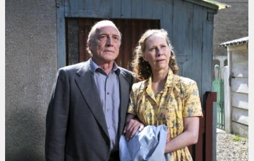 Marcel Marx (André Wilms) ja Arletty (Kati Outinen). Kuva: Marja-Leena Hukkanen. © Sputnik Oy.