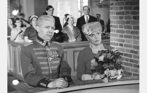 Pentti Siimes ja Hillevi Lagerstam.