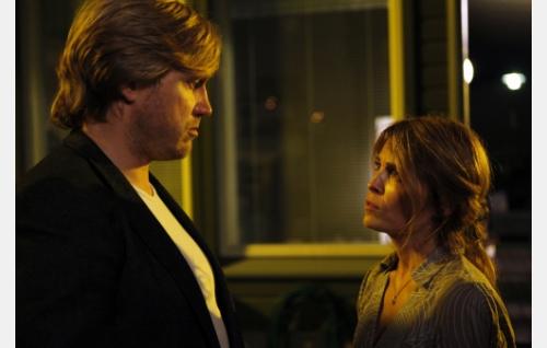 Aviopari Timo (Samuli Edelmann) ja Tiia (Irina Björklund). Kuva: Veera Aaltonen / Marianna Films Oy.