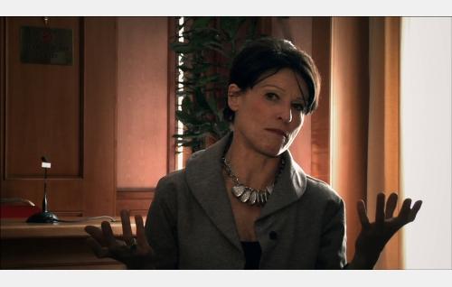 Manuela Di Centa, italialainen parlamentaarikko ja entinen kilpahiihtäjä. Kuva: Art Films Production AFP Oy.