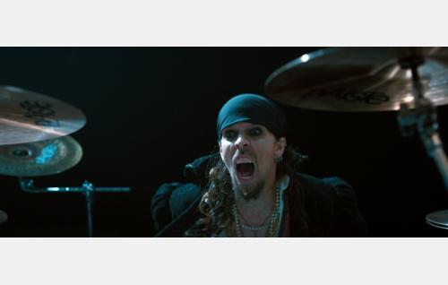 Jack (Jukka Nevalainen). Kuvakaappaus Nightwish-elokuvasta Imaginaerum. Solar Films Inc. Oy.