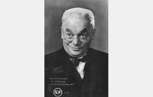Asessori Alfred Haaravirta (Aku Korhonen).