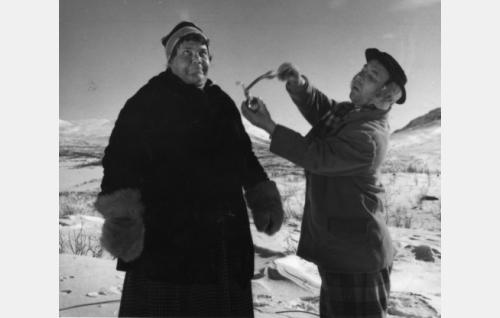 Siiri Angerkoski ja Masa Niemi