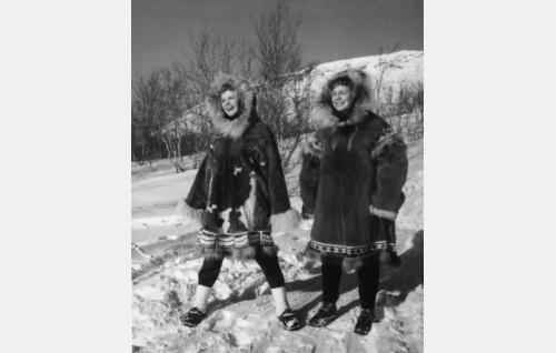 Tuija Halonen ja Anneli Sauli