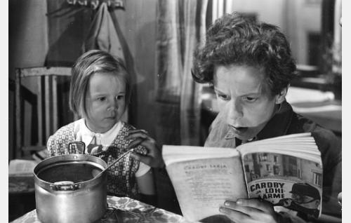 Pikku-Annika ja Veli-Matti.
