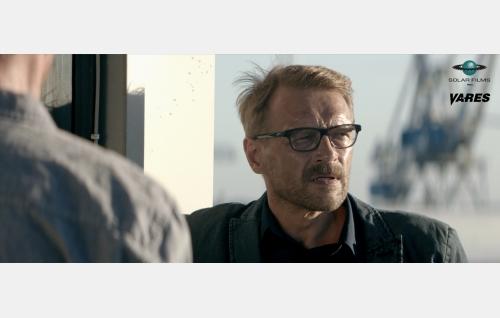 Komisario Hautavainio (Ilkka Heiskanen). © Solar Films Inc. Oy.