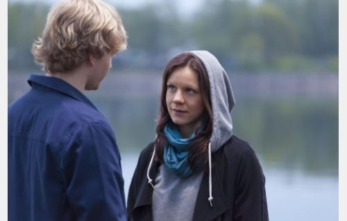 Rami (Elias Salonen) ja Taru (Misa Lommi). Kuva: Jaana Rannikko.