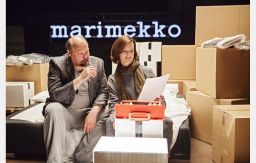 Hannu-Pekka Björkman ja Minna Haapkylä.