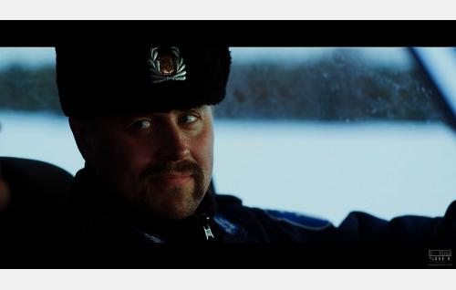Poliisi Mats Häggqvist (Rolf Lindblom) . Kuva: Elokuvatuotanto Salt Oy.