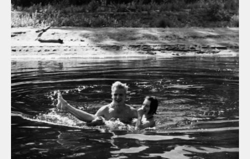 Pirkko Mannola ja Martti Katajisto (Nina ja Erik)