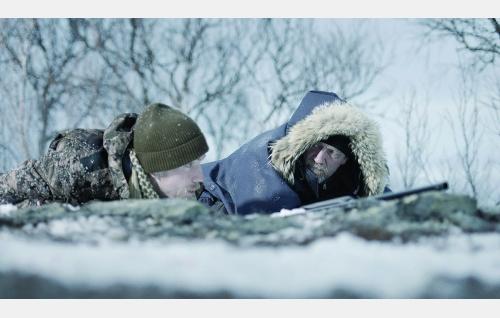 Erkki (Mikko Neuvonen) ja Lasse (Ville Virtanen). Kuva: © Tuomo Hutri / Making Movies Oy.