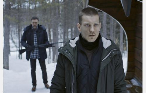 Lasse (Ville Virtanen) ja Jaakko (Antti Holma). Kuva: ©Tuomo Manninen / Making Movies Oy.