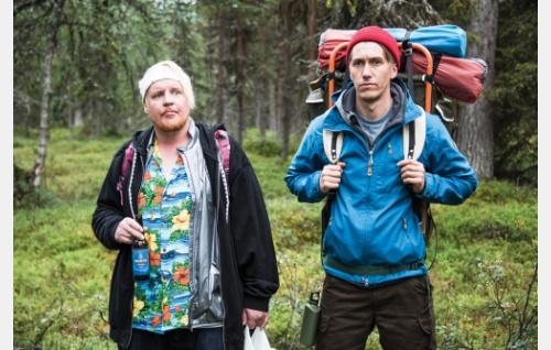 Kämäräinen (Santtu Karvonen) ja Janne (Jussi Vatanen). Kuva: Mikko Rasila © 2016. Yellow Film & TV Oy.