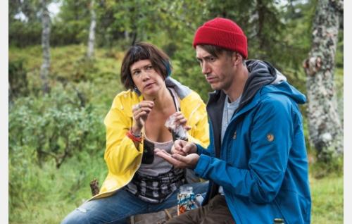 Hanna (Heidi Lindén) ja Janne (Jussi Vatanen). Kuva: Mikko Rasila © 2016. Yellow Film & TV Oy.