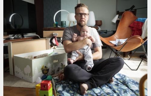 Antti (Petteri Summanen) ja Paavo. Kuva: © Solar Films Inc. Oy / Marek Sabogal.