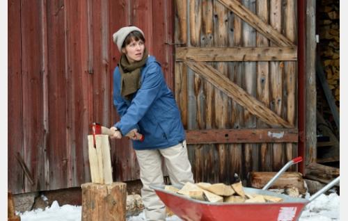 Unna (Anna Paavilainen). Kuva: Sami Kuokkanen © Helsinki-filmi Oy.