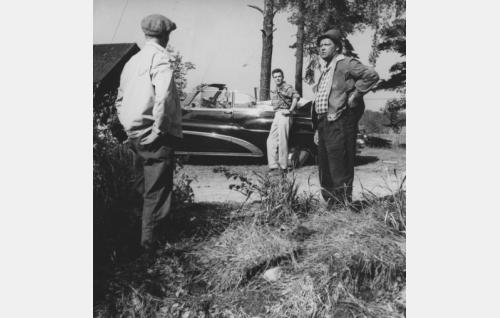 Hannes Häyrinen, Göran Cederberg ja Eemeli.
