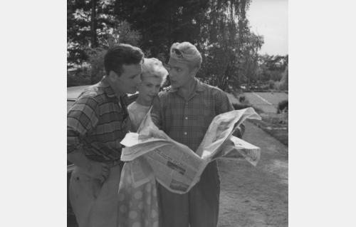 Göran Cederberg, Leni Katajakoski ja Martti Katajisto