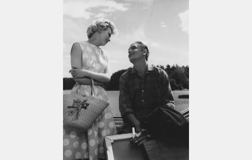 Leni Katajakoski ja Martti Katajisto.