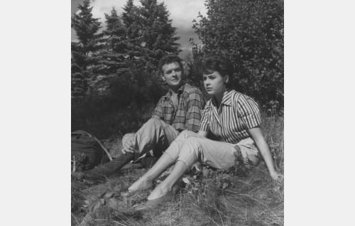 Pirkko Mannola ja Göran Cederberg