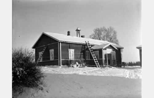 Hallin Jannen kotitalo, Hallinmäki.