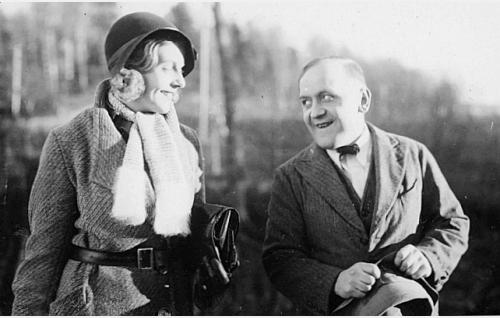 Regina Linnanheimo ja Matti Jurva