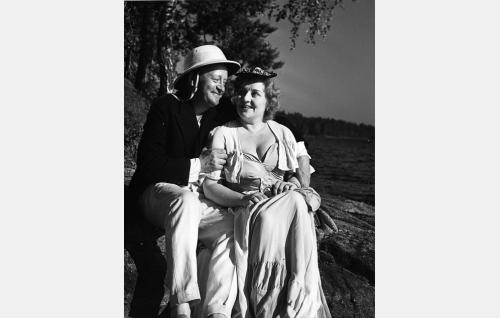 Pentti Viljanen ja Irja Rannikko.