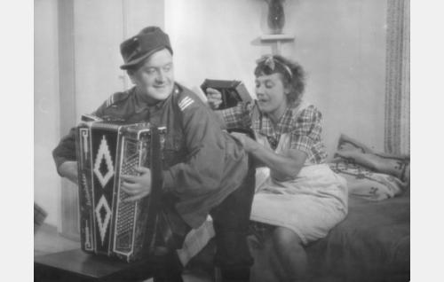 Matti Jurva ja Emmi Jurkka.