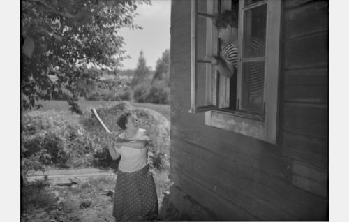 Kielo Mares (Eine Laine), Hiski (Matti Lehtelä)